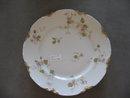 Haviland  Limoges Salad Plate, violets