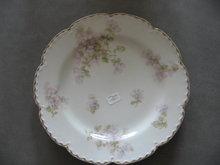 Haviland Limoges Luncheon Plate, Lavendar