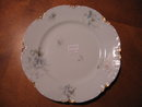 Haviland Limoges Luncheon Plate with Blue Violets