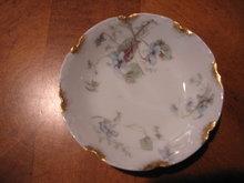 Haviland Limoges Butter Pat, Blue Violets