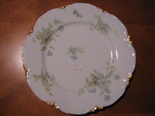 Haviland Limoges Luncheon plate, Sch 52B