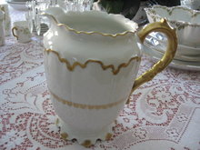 Haviland Limoges Water Pitcher
