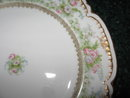Haviland Limoges Dinner Plate, Roses