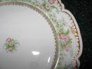Haviland Limoges Dinner Plate, Roses