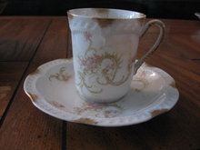 Haviland Limoges Chocolate cup & saucer