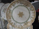 Haviland Limoges Fancy Dessert Plate, lots of gold