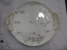 Haviland Limoges cookie plate,  Schleiger 1300