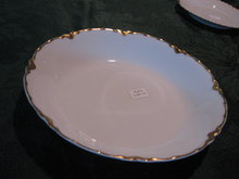 Haviland Limoges Soup bowl, Schleiger 24, Ranson with gold
