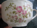 Haviland Limoges tea cup & saucer, pink roses