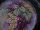 Haviland Limoges Cobalt Fruit  Plate