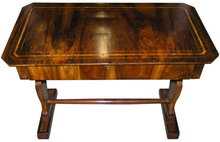 Antique German Biedermeier Period Walnut Desk