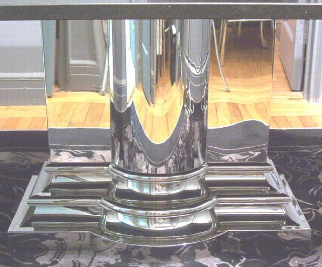 Brueton Classic Column Granite Dining Table