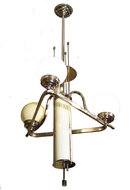 c1940s Vienna Art Deco Electric Chandelier