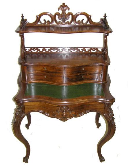 American Victorian Desk by John Jelliff