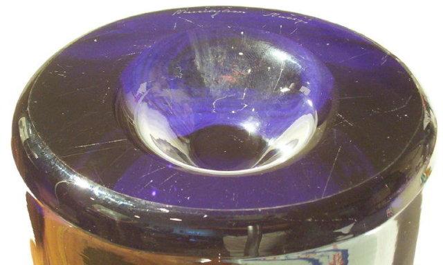 Kaj Franck Nuutajarvi Notsjo Glass Vase