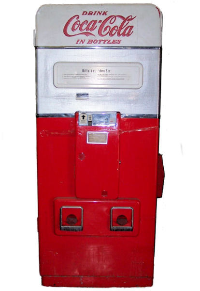 Vendo Coca-Cola GERMAN Vending Machine