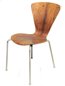 Mid-Century Chair Attributed to Lennart Bender
