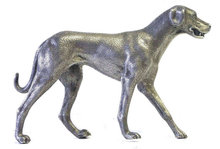 W&W Sterling Silver Labrador Dog Figurine