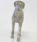 W&W Sterling Silver Labrador Dog Figurine