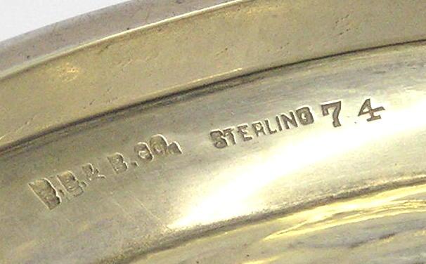 Antique TUTTLE Sterling Silver Fish Centerpiece