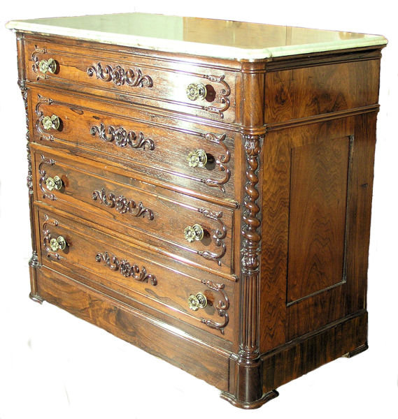 Victorian Commode Chest of Drawers