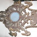 Pair of English Regency Giltwood Sconces with Wedgwood Jasperware Medallions