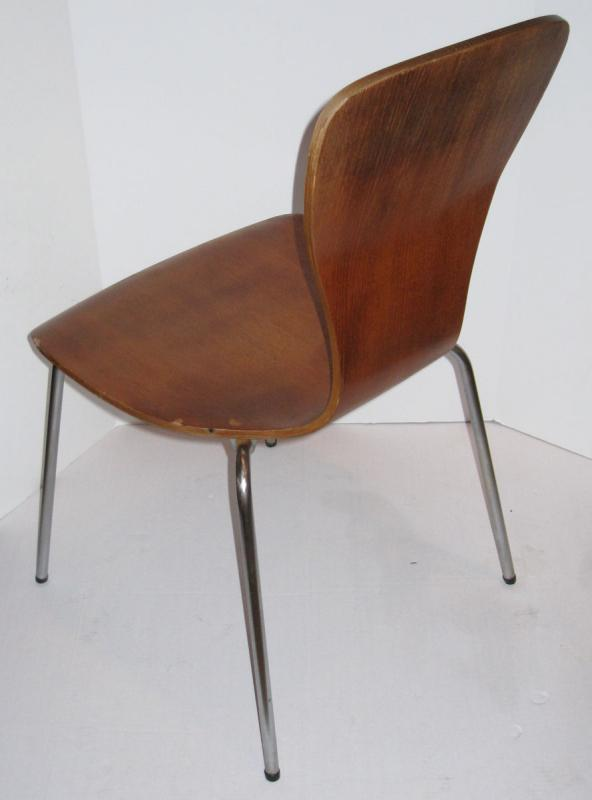 Set 4 Rare Mid-Century Nikke Chairs by Tapio Wirkkala for Asko 1960s