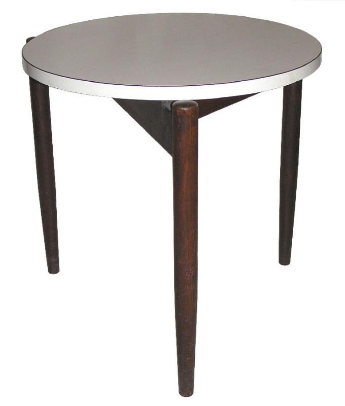 Jens Risom Vintage Danish Mid-Century Modern Occasional Side Table