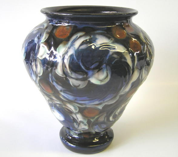 Herman KAHLER Ceramic Floral Vase