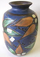 Herman KAHLER Danish Ceramic Vase