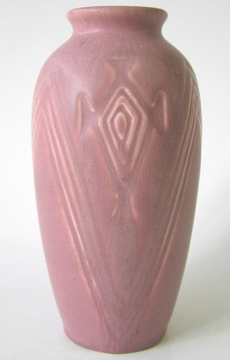 1930 Rookwood Raspberry Red Vase