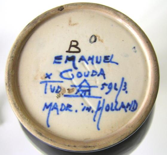 Old Emanuel Gouda Ewer Pitcher