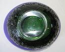 Kosta Blue Green Goran Warff Glass Bowl