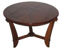 Maurice Champion French Art Deco Rosewood Coffee or Cocktail Table