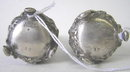 Pair Stieff Sterling Silver Salt Pepper Casters