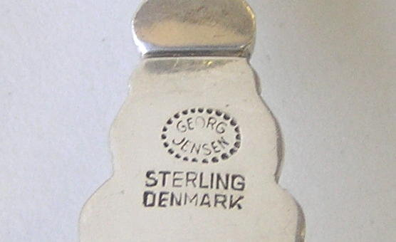 Jensen Sterling Silver Acorn Flatware Set