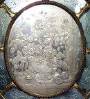 Romeo Ongaro Venetian Floral Engraved Mirror