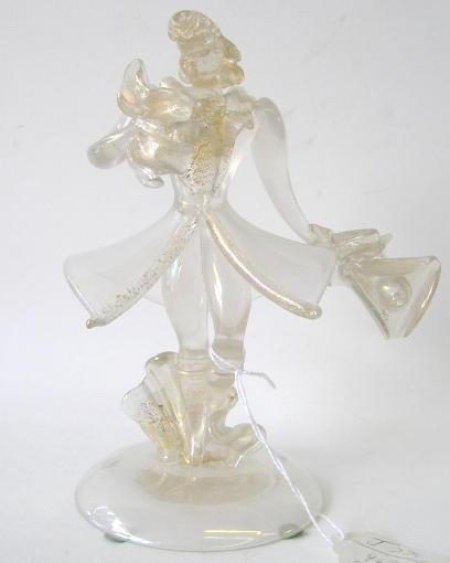 Vintage Seguso Cavalier Glass Figurine