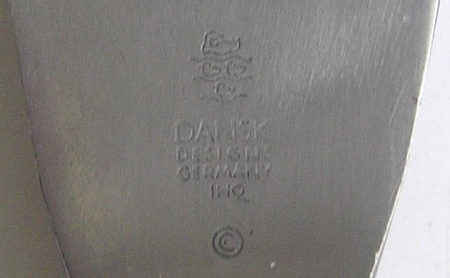 Dansk Fjord Teak Carving Knife & Fork