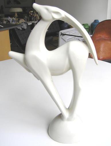 2 Haeger & 1 JARU Ceramic Figurines