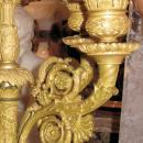 Pair Antique French Restauration Charles X Period Ormolu Candelabra