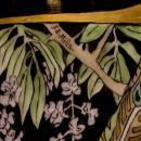 T&V Limoges Japanese Style French Art Nouveau Porcelain Vase by F.E. Mills