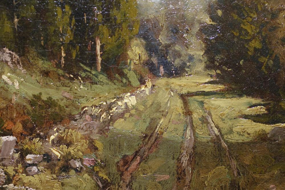 Paul R Koehler Antique American Landscape Oil Painting