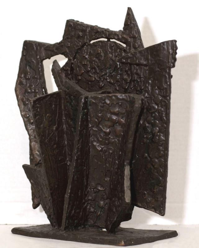 John Begg Mid-Century American Abstract Bronze Sculpture