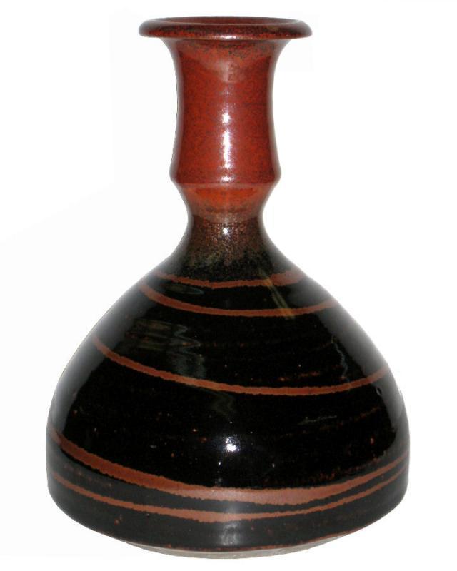 Leach Pottery Glazed Stoneware Pot Vase
