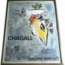 1964 MARC CHAGALL Galerie Maeght Poster