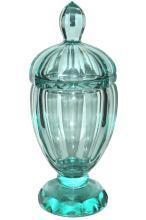 Josef Hoffmann Wiener Werkstatte Glass Urn Vase for Moser