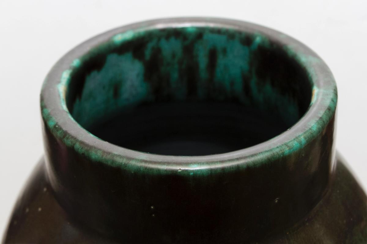 French Art Deco Period Ceramic Vase by Felix Gete for Ceramique d'Art d Bordeaux (CAB)