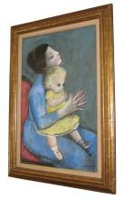 Gladys Rockmore Davis Mother & Child Portrait