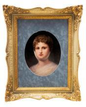 Prussian Queen Luise Porcelain KPM Plaque
